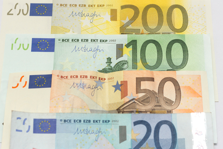 mitigate: euro notes money