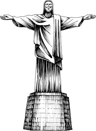 statue du Christ Christ Rédempteur