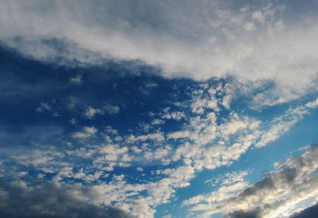 Frozen sky on the horizon
