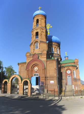 Pokrovsky Cathedral in  Barnaul