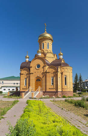 Picturesque views of the Orthodox Church of Archangel Michael