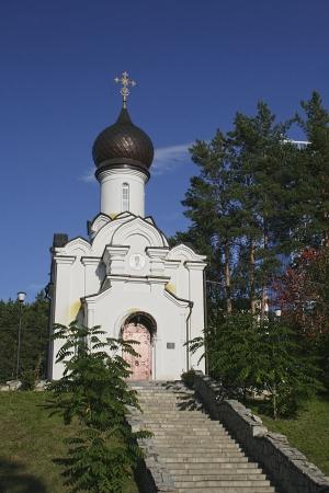 The Chapel of Saint Nicholas in Belokuriha, Altai