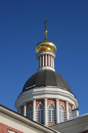 Dome of the Christmas Church Rogozhskaya settlement in Moscow