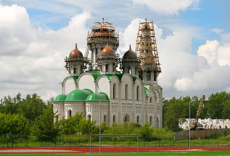 Orthodox church clear day