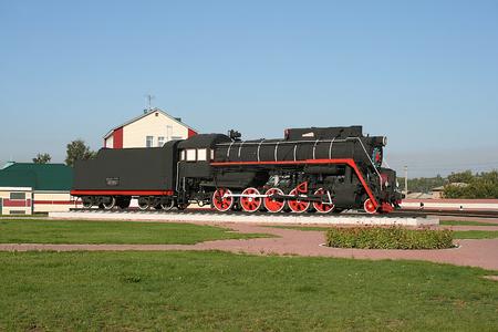 Retro Soviet locomotive