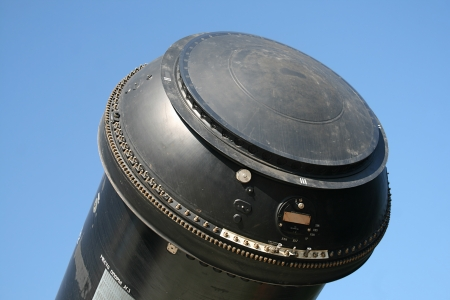 The warhead intercontinental ballistic missile