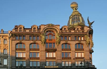 Singers house in Saint Petersburg in Modern style