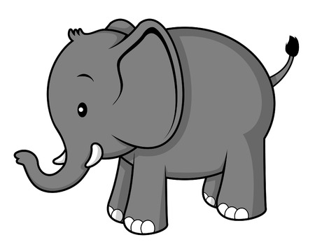 cute elephant: elephant