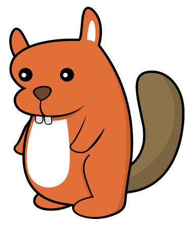 woodchuck: beaver illustration