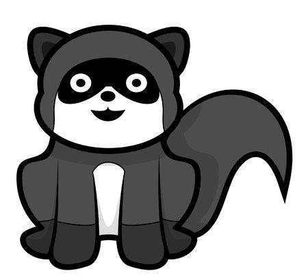 mink: weasel Illustration