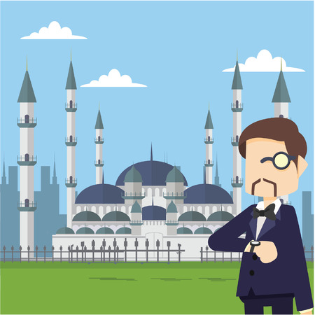 landlord: richman in blue mosque
