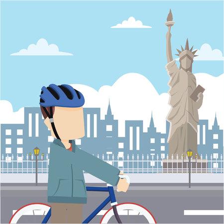 tour: rider tour liberty