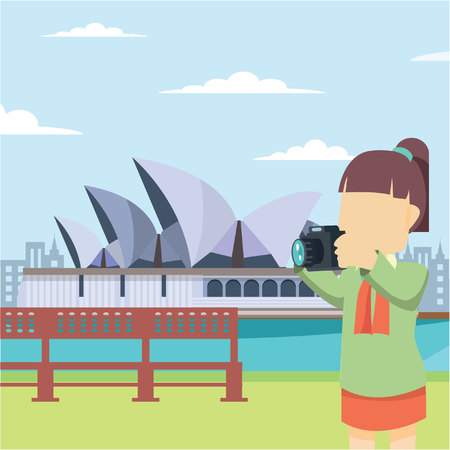 opera: girl tour opera house