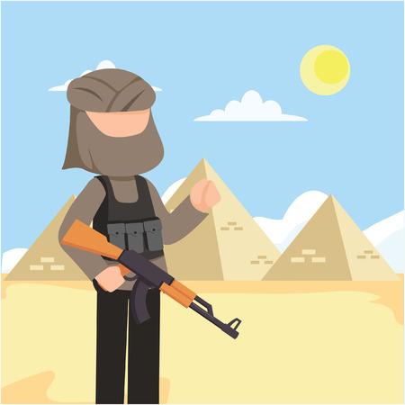 terrorist in egypt