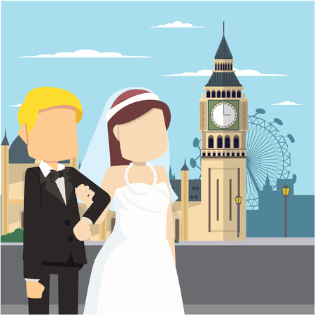 married couple tour big ben london