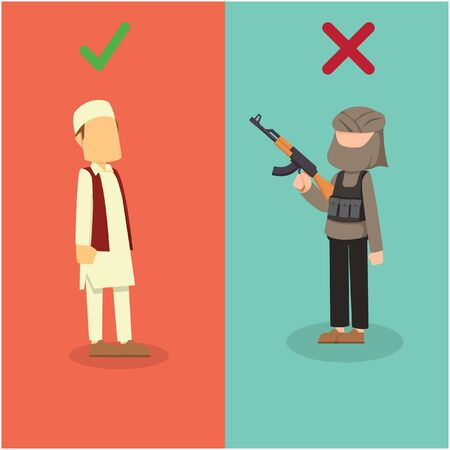 good moslem and bad moslem