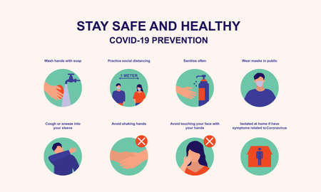 Advice For Public On How To Stay Safe From Coronavirus.