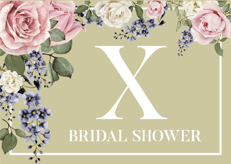 Table Coaster for Bridal Shower Decoration