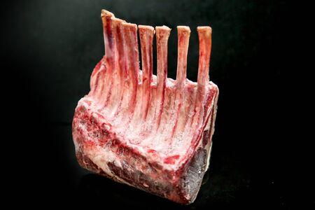 Raw Cut Beef at the Butchery Stok Fotoğraf - 131208822