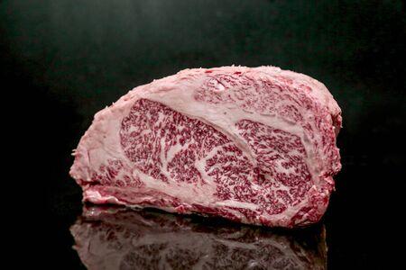 Raw Cut Beef at the Butchery Stok Fotoğraf - 131208826