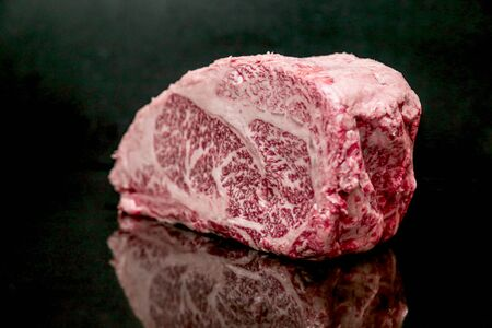Raw Cut Beef at the Butchery Stok Fotoğraf - 131208829