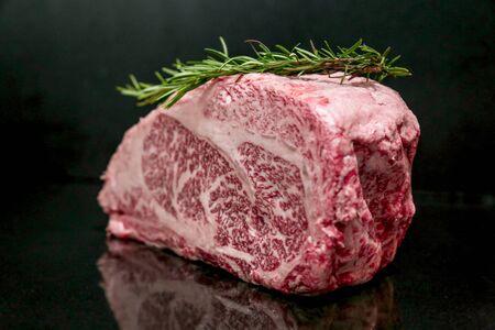 Raw Cut Beef at the Butchery Stok Fotoğraf - 131208827