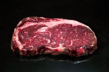 Raw Cut Beef at the Butchery Stok Fotoğraf - 131208839