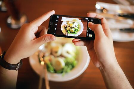 Hands in Frame Food Photography