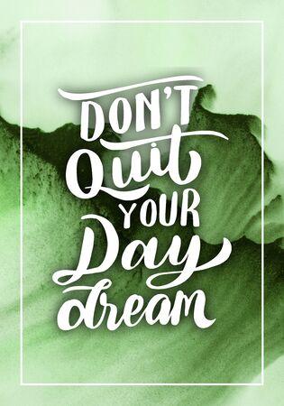 Stock Photo - Typography Quotes Poster