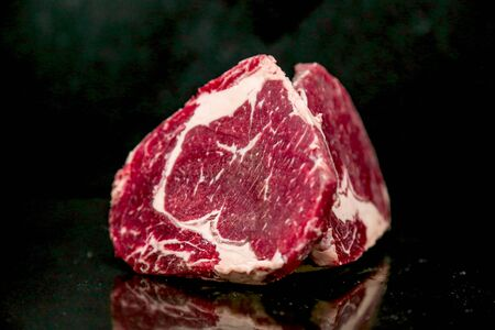 A Photograph of Fresh Raw Beef Meat