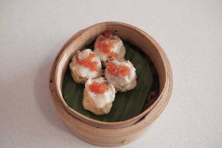 Food Stock Photo - Steamed Shrimp and Chicken Dimsum Stockfoto
