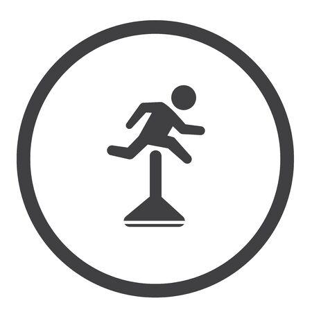 Jump the Hurdle Icon