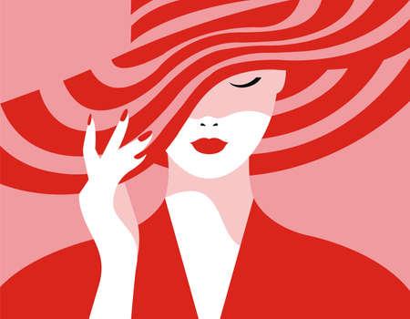 Pop Art Design Vector of Woman's Stuff