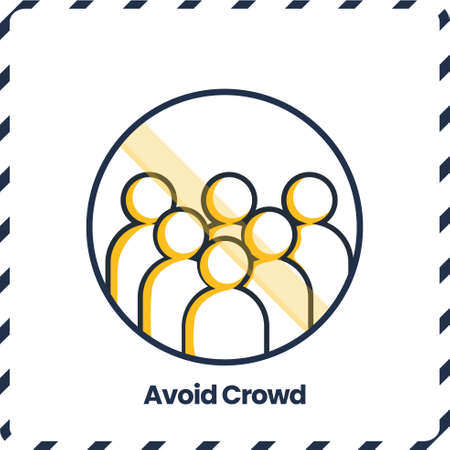 Avoid Crowd, Safety Protocol for virus