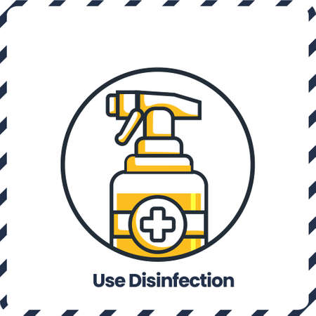 Use Disinfection, Safety Protocol for virus
