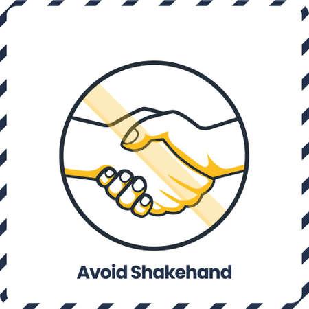 Avoid Shakehand, Safety Protocol for virus