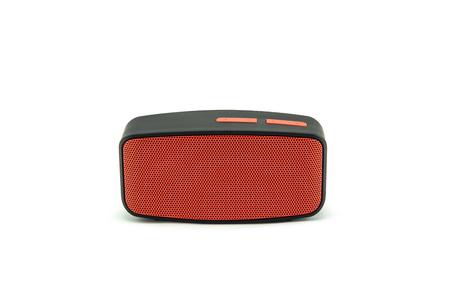 Bluetooth-spreker op witte achtergrond. Stockfoto - 84278189