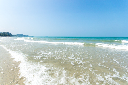 Koh Chang beach on summer at Koh Chang island in Trat Province, in the Gulf of Thailand near the Cambodian border.known also as 'Elephant Island' named because of its elephant shaped headland, is Thailand's second largest island after Phuket.