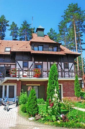 weekend house with garden in Serbia, Zlatibor photo