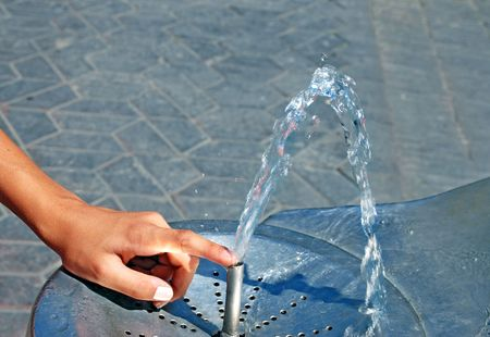 Water drinking fountain  photo
