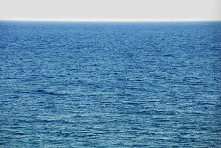 seaway: blue sea water abstract natural background