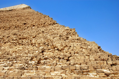 Kefren Pyramid on Giza, Cairo, landmark of Egypt Stock Photo - 9805153