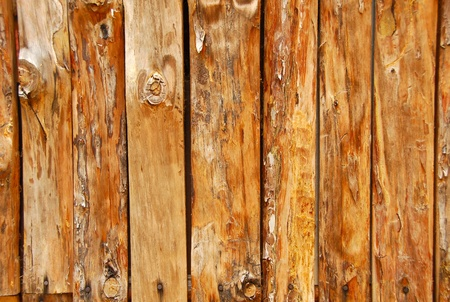 wood panelled: abstract brown pine wood boards natural texture background Stock Photo