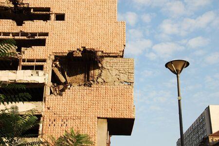 bombardment: Belgrade, Serbia