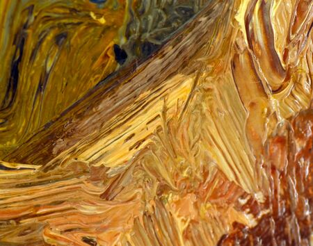 colorful oil painting texture closeup macro photo