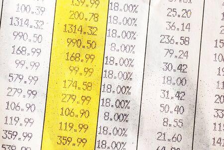 economize: Invoice details