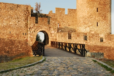 architecture details of Kalemegdan fortress in Belgrade, Despots Gate photo
