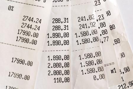 vat: High bills Stock Photo
