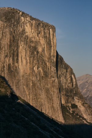 El Capitan in Yosemite Valley in Yosemite National Park, California Stok Fotoğraf