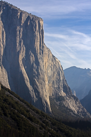 El Capitan mountain in Yosemite National Park in California Stok Fotoğraf